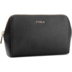 Kosmetyczka FURLA - Electra 888169 E EP20 B30 Onyx. Czarne kosmetyczki męskie Furla, ze skóry. Za 435,00 zł.