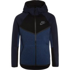 Nike Performance HOODIE Bluza rozpinana obsidian/heather/black/anthracite. Niebieskie bluzy chłopięce Nike Performance, z bawełny. Za 329,00 zł.