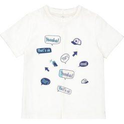 Odzież chłopięca: T-shirt, wzorek z przodu 3-12 ans