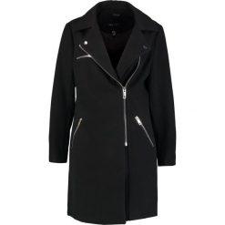Płaszcze damskie: New Look ZIP FORMAL BIKER Krótki płaszcz black