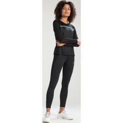 Röhnisch TRULY Bluzka z długim rękawem black tonal maasai flower. Czarne bluzki asymetryczne Röhnisch, xl, z elastanu, z długim rękawem. Za 249,00 zł.