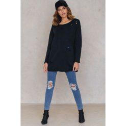 Bluzy rozpinane damskie: Statement By NA-KD Influencers Bluza Dilara - Black