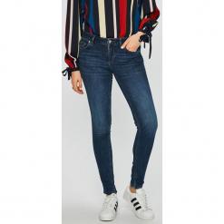 Liu Jo - Jeansy Fabulous. Niebieskie jeansy damskie rurki Liu Jo, z bawełny. Za 899,90 zł.