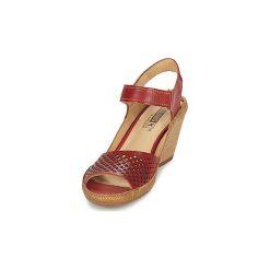 Sandały Pikolinos  CAPRI W8F. Czerwone rzymianki damskie Pikolinos. Za 293,30 zł.