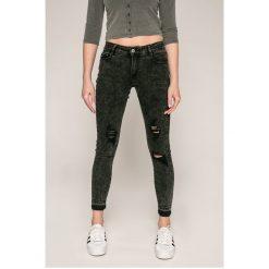 Haily's - Jeansy. Czarne jeansy damskie rurki Haily's, z bawełny. W wyprzedaży za 89,90 zł.