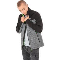 Bluzy męskie: 4f Bluza męska szaro-czarna r. L (H4Z17-BLM006)