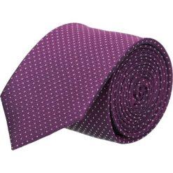 Krawaty męskie: krawat platinum fiolet classic 205
