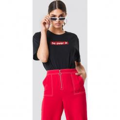 Motel Rocks T-shirt Oversize Basic - Black. Różowe t-shirty damskie marki Motel Rocks. W wyprzedaży za 113,37 zł.
