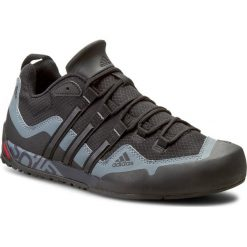 Buty adidas - Terrex Swift Solo D67031 Black1/Black1/Lead. Czarne buty trekkingowe męskie Adidas, z materiału, na sznurówki, outdoorowe, adidas terrex. W wyprzedaży za 299,00 zł.