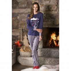 Damska piżama Snowing. Brązowe piżamy damskie Astratex, na zimę, z dzianiny. Za 120,27 zł.