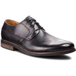 Półbuty CLARKS - Becken Plain 261231487 Black Leather. Czarne półbuty skórzane męskie Clarks. W wyprzedaży za 219,00 zł.