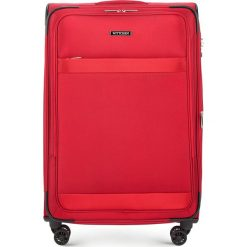 Walizka duża 56-3S-583-30. Czarne walizki marki Wittchen, z gumy, duże. Za 419,00 zł.