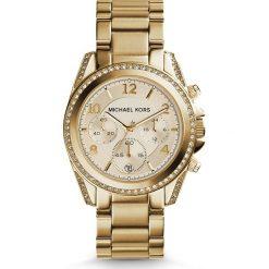 Zegarek MICHAEL KORS - Blair MK5166 Gold/Gold. Żółte zegarki damskie Michael Kors. Za 1390,00 zł.
