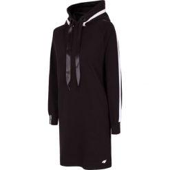 Sukienki dresowe: Sukienka SUDD211 - czarny