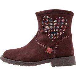Agatha Ruiz de la Prada VAGABUNDA Botki brown. Niebieskie buty zimowe damskie marki Agatha Ruiz de la Prada, z materiału. W wyprzedaży za 197,45 zł.