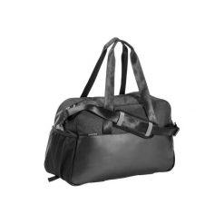 Torba fitness kardio 30l. Czarne torby podróżne marki DOMYOS, z materiału, duże. W wyprzedaży za 54,99 zł.