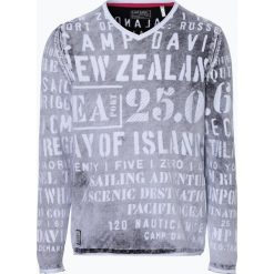 Camp David - Sweter męski, czarny. Czarne swetry klasyczne męskie Camp David, m. Za 379,95 zł.