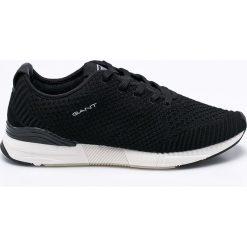 Gant - Buty Andrew. Czarne buty skate męskie GANT, z materiału, na sznurówki. W wyprzedaży za 299,90 zł.