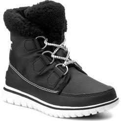 Śniegowce SOREL - Cozy Carnival NL2297 Black 011. Czarne buty zimowe damskie Sorel, z gumy, na niskim obcasie. W wyprzedaży za 319,00 zł.