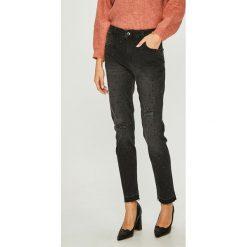 Liu Jo - Jeansy. Szare jeansy damskie Liu Jo, z aplikacjami, z bawełny. Za 799,90 zł.