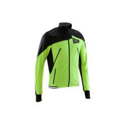 Kurtka do biegania Kiprun EVOLUTIVE męska. Czerwone bluzy męskie rozpinane marki KALENJI, m, z elastanu, z długim rękawem, długie. Za 199,99 zł.