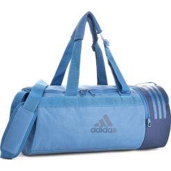 Torba adidas - CVRT 3S DUF S CF3294  Traroy/Traroy/Nobind. Niebieskie plecaki męskie marki Adidas. W wyprzedaży za 129,00 zł.