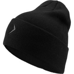 Czapka męska CAM603 - głęboka czerń - Outhorn. Czarne czapki zimowe męskie Outhorn. Za 29,99 zł.
