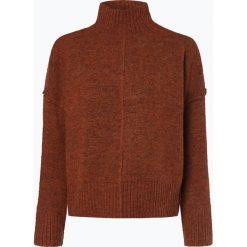 ONLY - Sweter damski – Onlbabylou, brązowy. Brązowe swetry klasyczne damskie marki ONLY, s, z dzianiny, ze stójką. Za 159,95 zł.