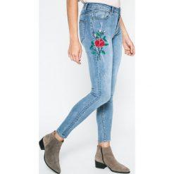 Answear - Jeansy Blossom Mood. Niebieskie jeansy damskie rurki ANSWEAR. W wyprzedaży za 99,90 zł.
