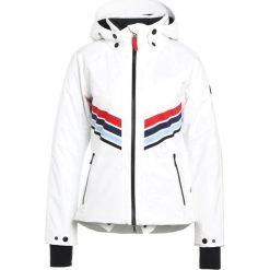 Bogner Fire + Ice MACIE Kurtka narciarska white. Białe kurtki damskie narciarskie marki Bogner Fire + Ice, z materiału. W wyprzedaży za 1679,20 zł.