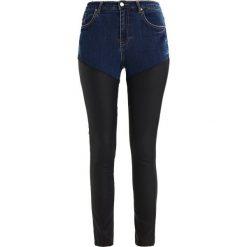 Missguided SINNER COATED MIX  Jeans Skinny Fit blue. Niebieskie jeansy damskie Missguided. W wyprzedaży za 170,10 zł.