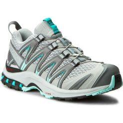 Buty SALOMON - Xa Pro 3D W 393291 20 V0 Quarry/Pearl Blue/Aruba Blue. Szare buty do biegania damskie marki Salomon, z gore-texu, na sznurówki, gore-tex. W wyprzedaży za 349,00 zł.