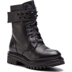 Trapery EVA MINGE - Dehesa 4M 18GR1372674EF 101. Czarne buty zimowe damskie Eva Minge, ze skóry. W wyprzedaży za 399,00 zł.