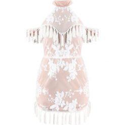 Sukienki: Missguided Sukienka koktajlowa nude
