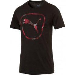 Koszulki do fitnessu męskie: Puma Koszulka Sportowa Brand Pure Logo Tee Cotton Black S