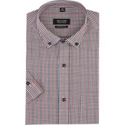 Koszula bexley 1495 krótki rękaw custom fit czerwony. Czerwone koszule męskie Recman, m, z krótkim rękawem. Za 119,00 zł.