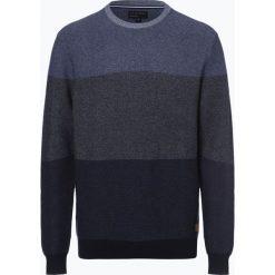 Nils Sundström - Sweter męski, niebieski. Niebieskie swetry klasyczne męskie Nils Sundström, m, w gradientowe wzory. Za 169,95 zł.