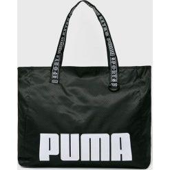 Puma - Torba. Czarne torebki klasyczne damskie Puma, z materiału. W wyprzedaży za 159,90 zł.