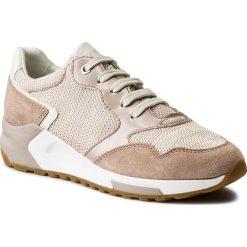 Sneakersy GEOX - D Phyteam B D824DB 06K22 C7X8A Salmon/Antique Rose. Czerwone sneakersy damskie Geox, z materiału. W wyprzedaży za 299,00 zł.