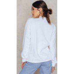 Bluzy rozpinane damskie: Josefin Ekström for NA-KD Bluza GRL PWR Rose - White,Multicolor