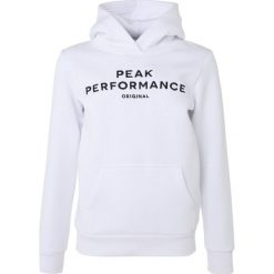 Peak Performance LOGO Bluza z kapturem white. Białe bluzy chłopięce rozpinane Peak Performance, z bawełny, z kapturem. Za 299,00 zł.