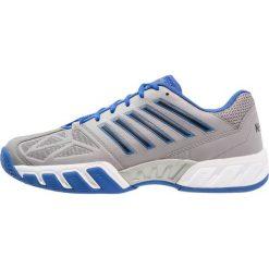 KSWISS BIG SHOT LIGHT 3 Obuwie multicourt titanium/black/strong blue. Białe buty do tenisa męskie marki K-SWISS. Za 419,00 zł.
