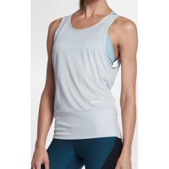 Topy sportowe damskie: Nike Koszulka damska Dry Tank Loose RBK Studio szara r. L (904460-043)