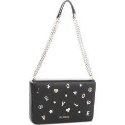 Torebka LOVE MOSCHINO - JC4147PP16LZ0000 Nero. Czarne torebki klasyczne damskie marki Love Moschino, ze skóry. W wyprzedaży za 839,00 zł.