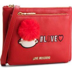 Torebka LOVE MOSCHINO - JC4075PP16LK0500 Rosso. Czerwone listonoszki damskie Love Moschino, ze skóry ekologicznej. W wyprzedaży za 409,00 zł.