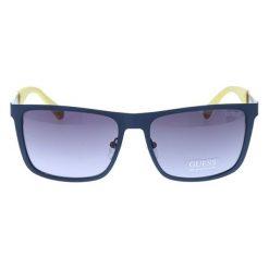 """Okulary przeciwsłoneczne męskie: Okulary przeciwsłoneczne """"GU6842"""" w kolorze granatowo-żółtym"""