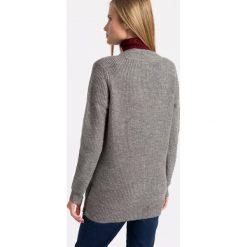 Vero Moda - Sweter. Niebieskie swetry klasyczne damskie marki Vero Moda, z bawełny. W wyprzedaży za 79,90 zł.