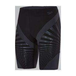 Kąpielówki męskie: Speedo Kąpielówki męskie Chevron Splice Jammer Black/Grey r. 36 (8113499023)