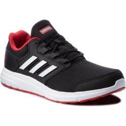 Buty adidas - Galaxy 4 m B44622 Cblack/Ftwwht/Scarle. Czarne buty do biegania męskie Adidas, z materiału. W wyprzedaży za 189,00 zł.