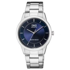 Zegarek Q&Q Męski Klasyczny QA44-202 srebrny. Szare zegarki męskie Q&Q, srebrne. Za 123,51 zł.